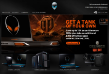 Alienware Website